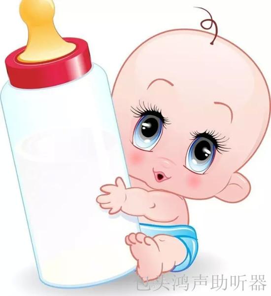 因为有的宝宝出生时看起来很健康,但可能在妈妈肚子里就已经出现听力图片